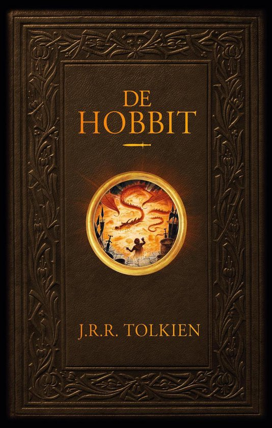 Boek cover De hobbit van J.R.R. Tolkien (Hardcover)