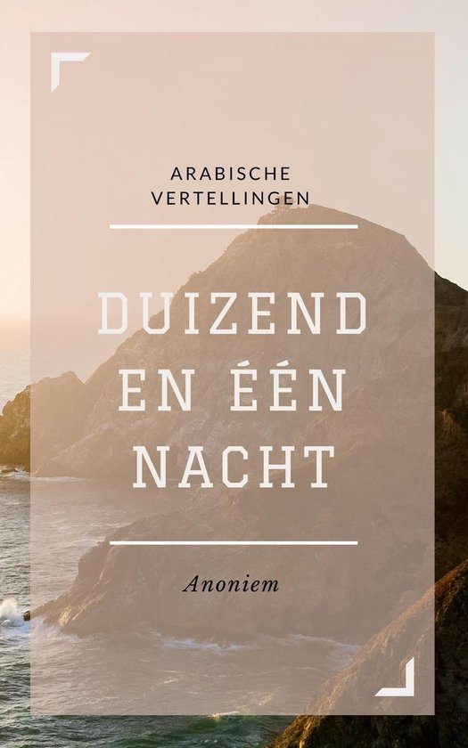 Boek cover Duizend en één Nacht van Anoniem (Onbekend)