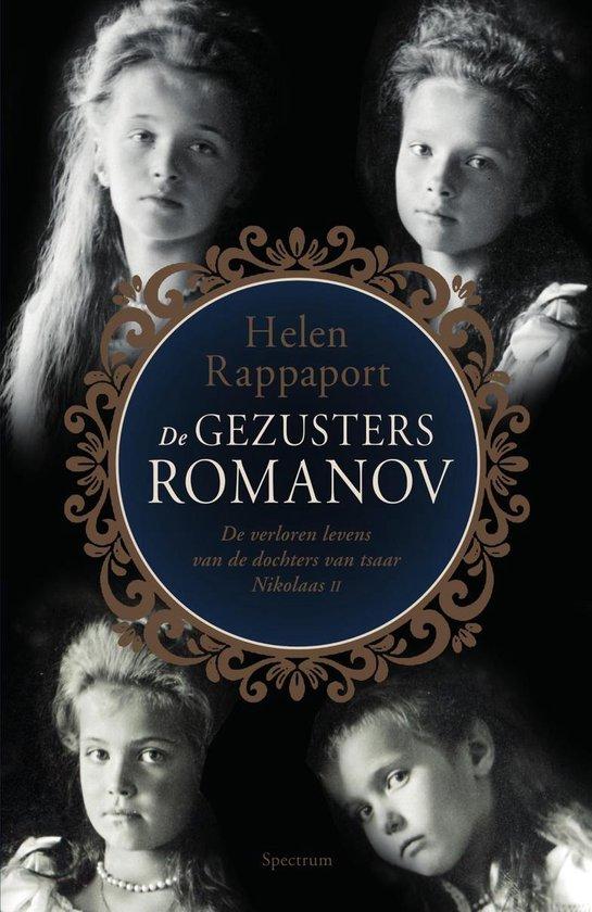 Boek cover De gezusters Romanov van Helen Rappaport (Onbekend)