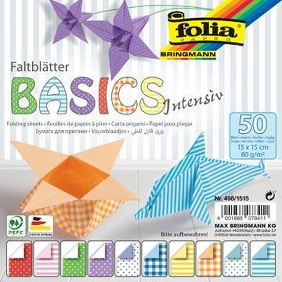 FOLIA VOUWPAPIER BASIC INT 50V