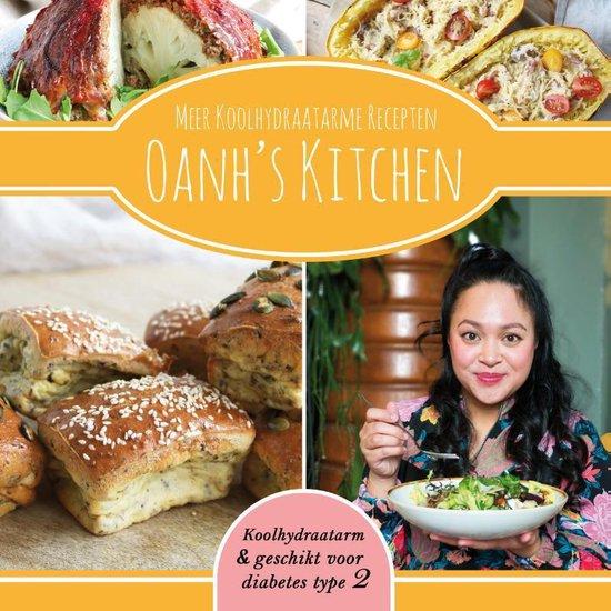 Boekomslag voor Oanh's Kitchen - Meer Koolhydraatarme Recepten Oanh's Kitchen