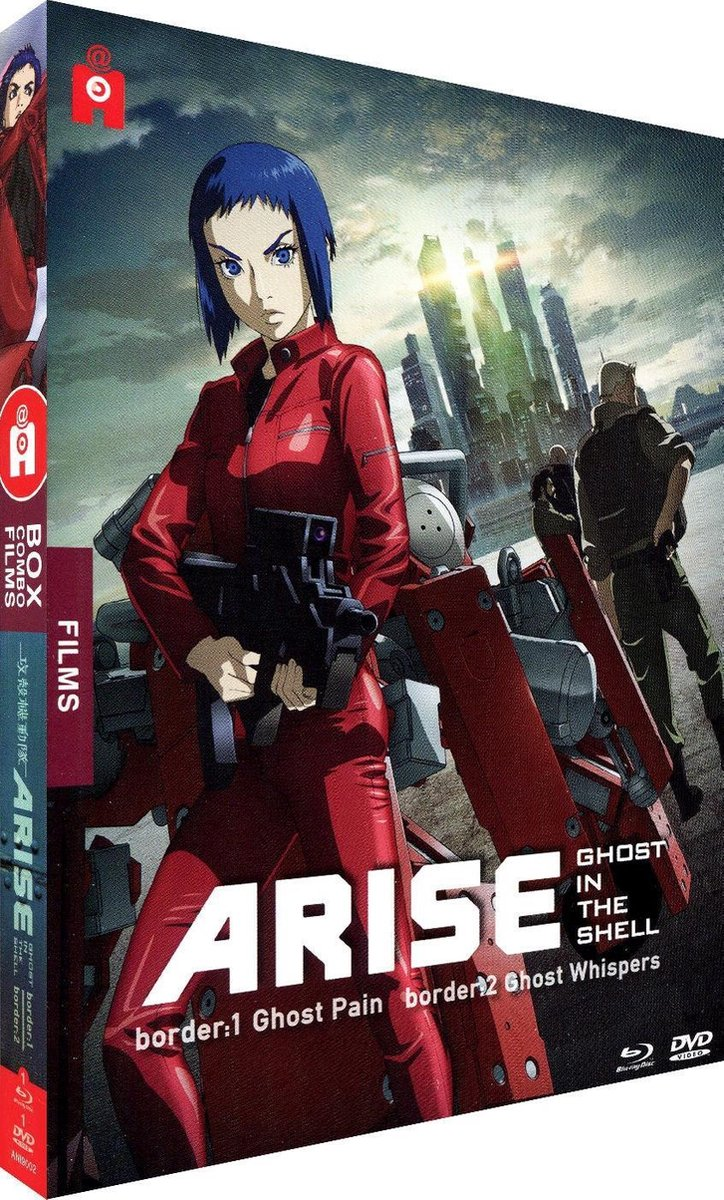 Ghost in the Shell : Arise Films 1 & 2 - Edition Combo Blu-Ray + DVD-