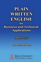 Plain Written English for Business and Technical Applications Main Text