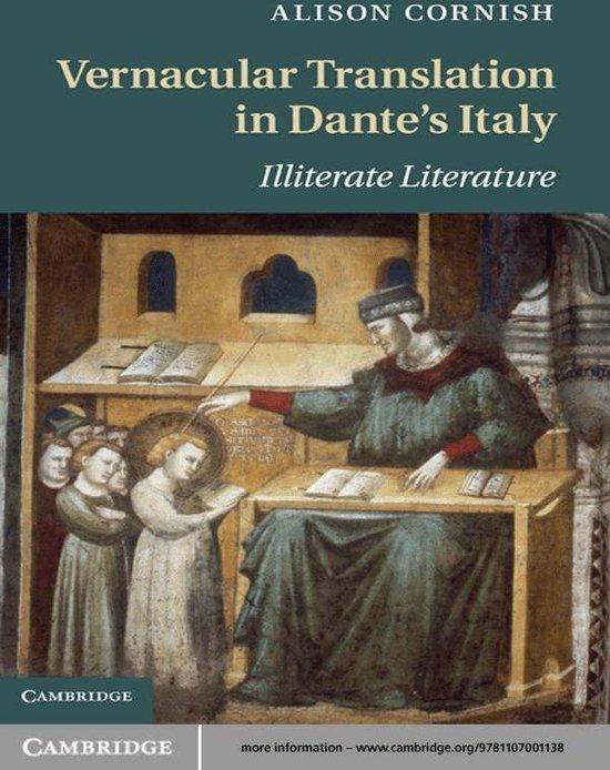 Vernacular Translation in Dante's Italy