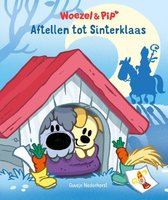 Boek cover Woezel & Pip  -   Aftellen tot Sinterklaas van Guusje Nederhorst