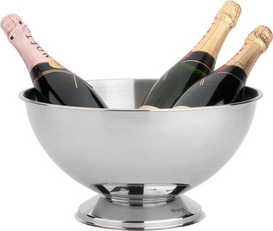 Leopold Vienna - Champagneschaal Classic II - RVS