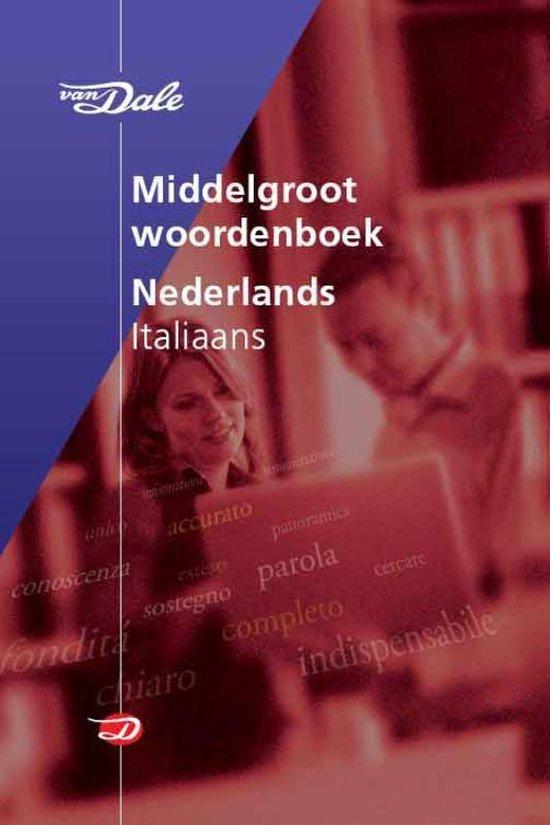 Van Dale Middelgroot woordenboek Nederlands-Italiaans - Vincenzo Lo Cascio | Fthsonline.com