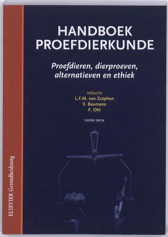 Handboek proefdierkunde - L.F.M. van Zutphen |