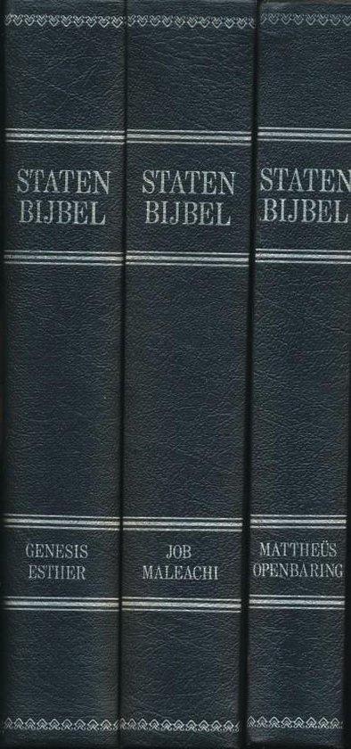 Statenbijbel 3 delen met nieuwe bijgevoegde verklaringen op de duistere plaatsen en aanteekeningen van de gelijkluidende teksten - none pdf epub