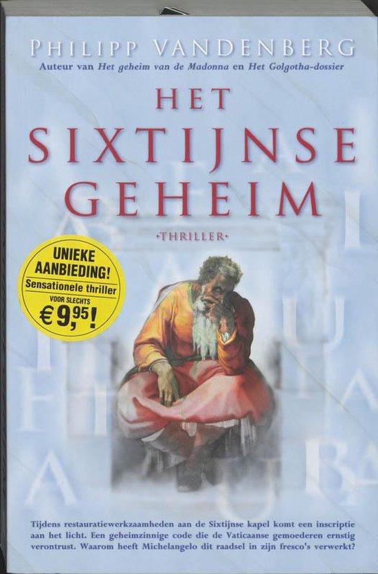 Het Sixtijnse geheim - Philipp Vandenberg |