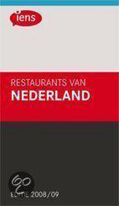 Cover van het boek 'IENS Restaurants van Nederland 2008/9' van S. Brummelhuis en I. Boswijk