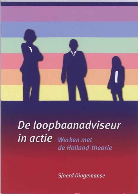 Cover van het boek 'De loopbaanadviseur in actie / druk 1' van S. Dingemanse en S Dingemanse
