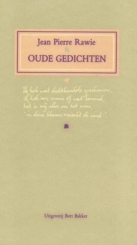 Oude gedichten - J.P. Rawie | Fthsonline.com