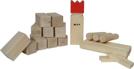 Bex Sport Semi Pro Family Kubb Rode Koning - Berkenhout