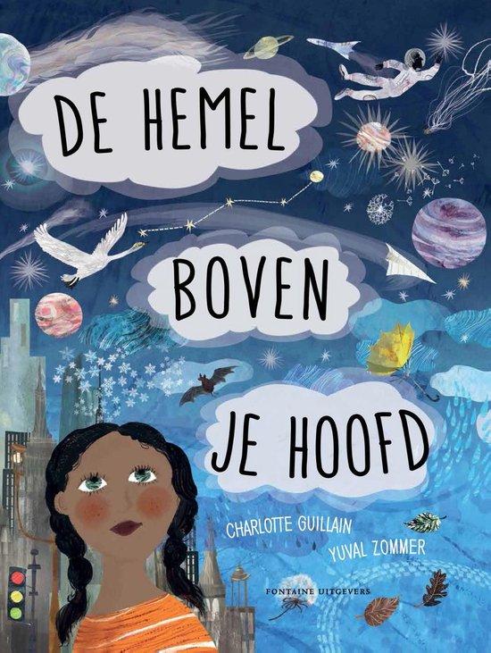 Boek cover De hemel boven je hoofd van Charlotte Guillain (Hardcover)