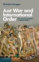 Just War and International Order