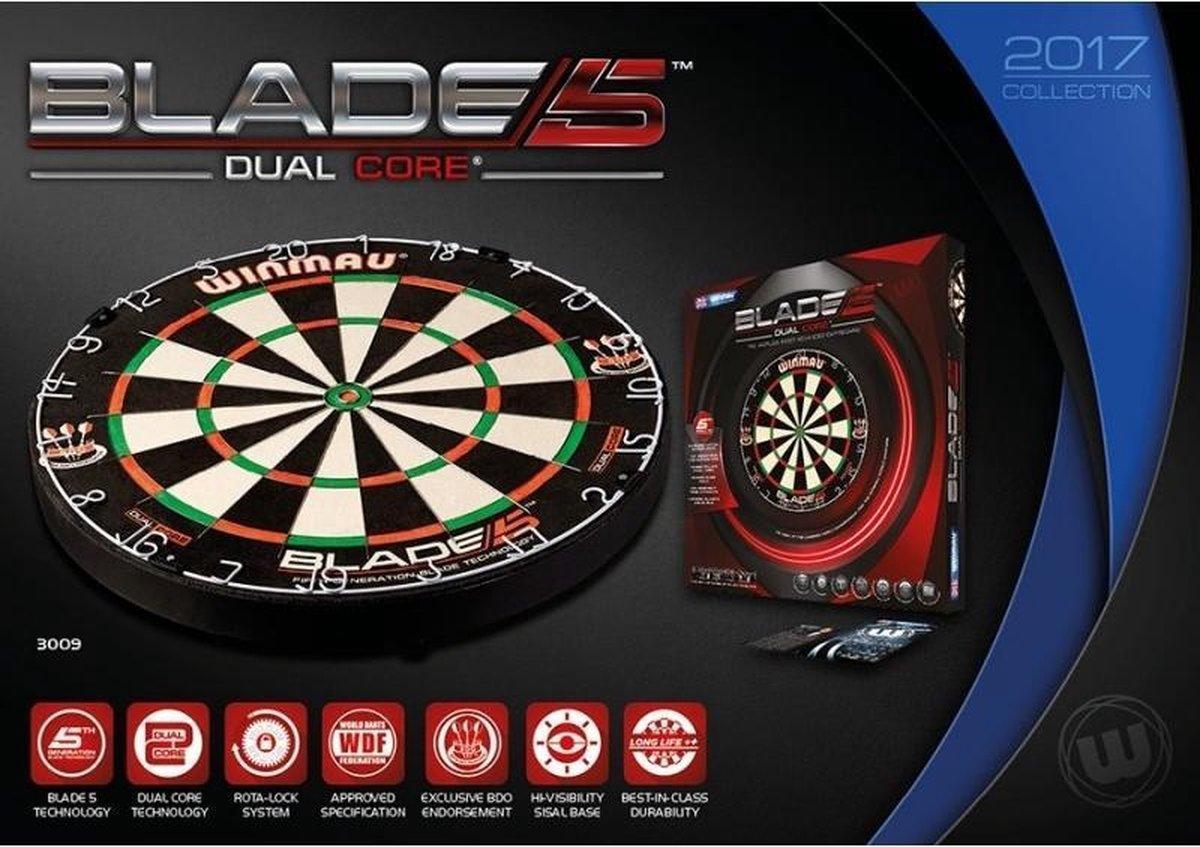 Winmau Blade 5 Dual Core Dartboard Per stuk