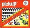 Pick-Up Boekje Plakcijfers Helvetica - Zwart/Mat - 30 mm