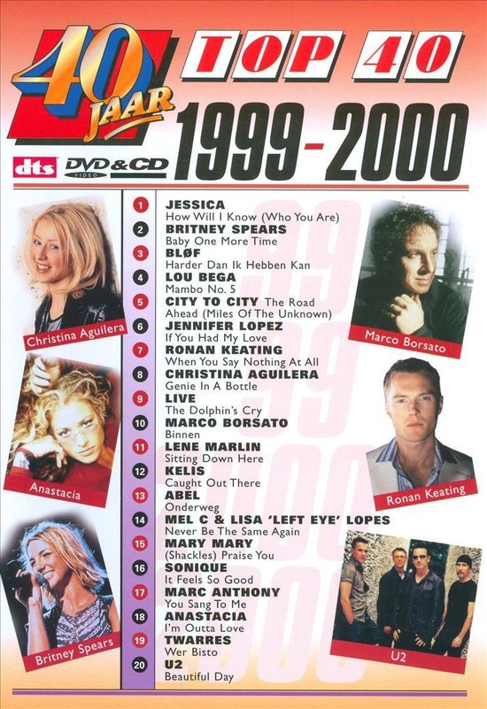 Cover van de film '40 Jaar Top 40 - 1999/00'