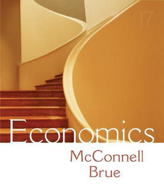 Boek cover Economics (NASTA Hardcover Reinforced High School Binding) van Campbell R. Mcconnell (Hardcover)