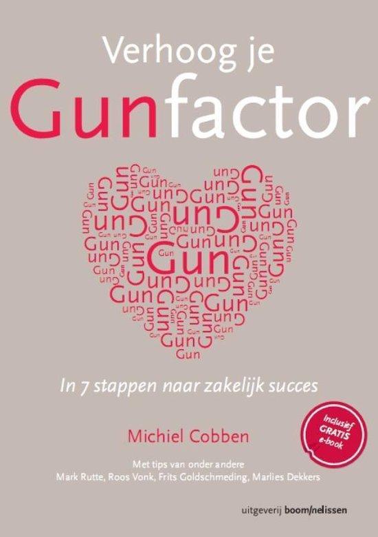Verhoog je gunfactor - Michiel Cobben |
