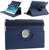 Apple iPad Air 2 Swivel Case, 360 graden draaibare Hoes, Cover met Multi-stand - Kleur Donkerblauw