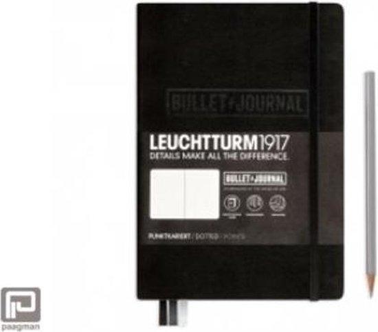 Leuchtturm1917 Bullet Journal notitieboek - Medium (A5) - Zwart