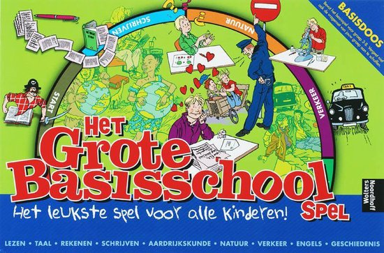 Het Grote Basisschool Spel / deel Basisdoos - Onbekend | Fthsonline.com