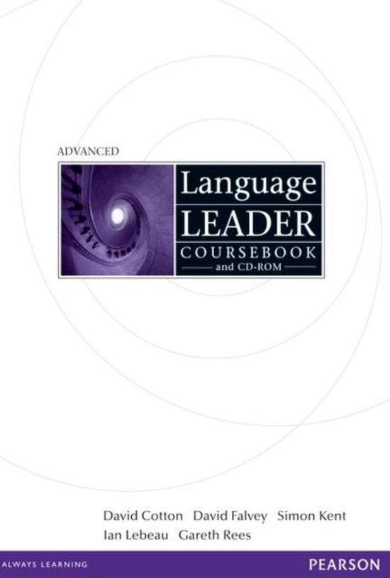 Boek cover Language Leader Advanced Coursebook van David Cotton (Onbekend)