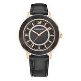Swarovski Octea Jet Hematite horloge  - Zwart