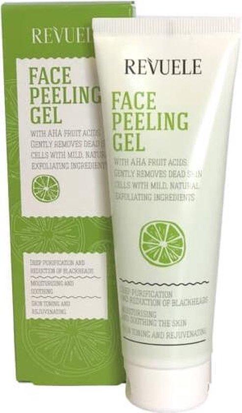 Revuele Face Peeling Gel with Fruit AHA Acids 80ml.