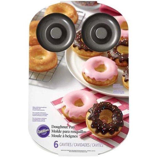 Wilton Donut bakvorm - Magnetronbestendig  - Vaatwasserbestendig