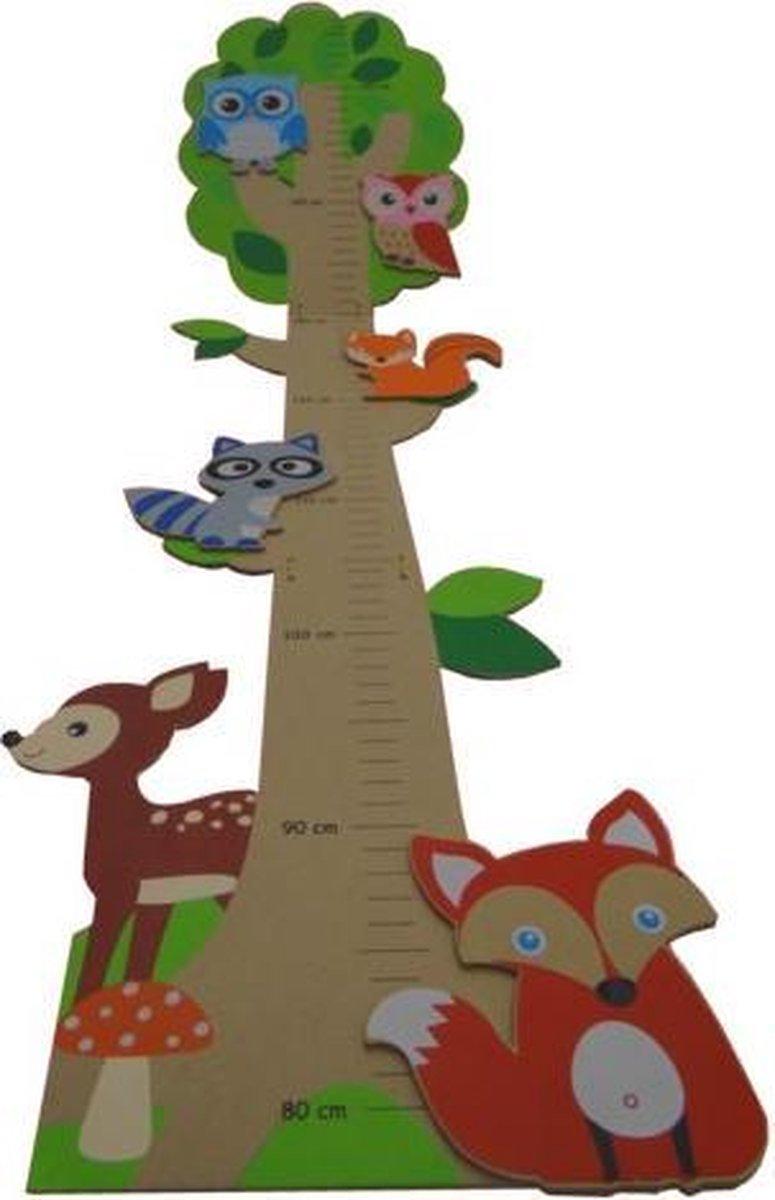 Meetlat groeimeter Bos dieren - Kimano