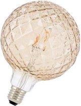 Bailey Pine globelamp LED filament goud 3W (vervangt 20W) grote fitting E27 125mm