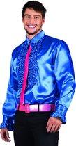Party - Shirt -  Blauw -  L