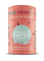 For Girls Only! - Waarheid, durven of doen koker