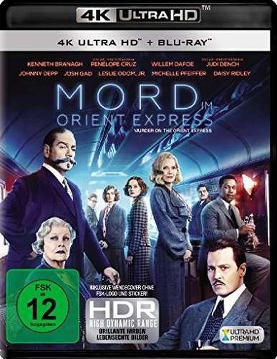 Mord im Orient Express (2017) (Ultra HD Blu-ray & Blu-ray)-