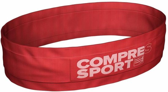 Compressport Free Belt Rood