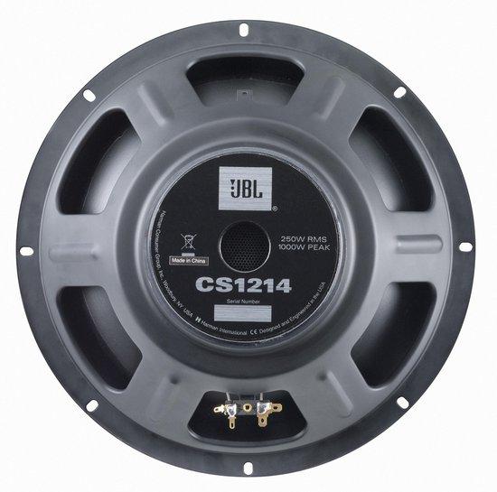 "JBL CS1214 - 30 cm (12"") subwoofer 1000W piek - Zwart"