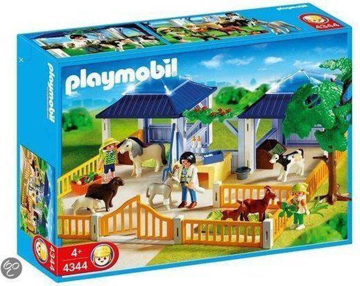 PLAYMOBIL Dierenverzorgingsplaats - 4344