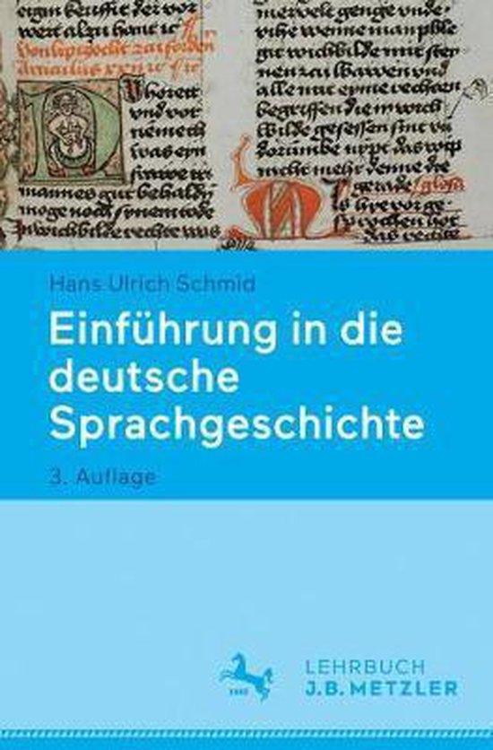 Einfuhrung in Die Deutsche Sprachgeschichte