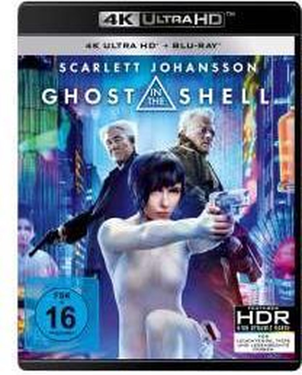Ghost in the Shell (2017) (Ultra HD Blu-ray & Blu-ray)-