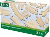 BRIO Midi rails uitbreidingsset - 33402