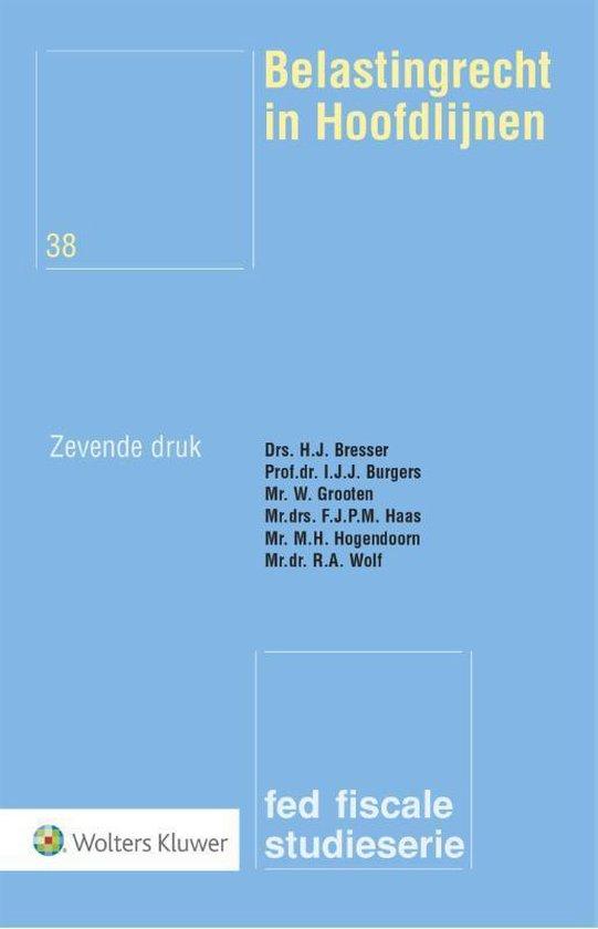 Boek cover Belastingrecht in Hoofdlijnen van H.J. Bresser