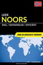 Leer Noors: Snel / Gemakkelijk / Efficiënt: 2000 Belangrijkste Woorden