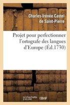 Projet pour perfectionner l'ortografe des langues d'Europe