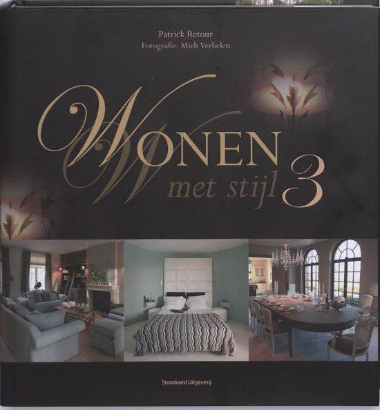 Cover van het boek '03 Wonen met stijl' van Patrick Retour