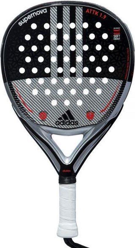 Uva triple de nuevo  bol.com | Adidas SuperNova ATTK 1.9 Padel racket padelracket