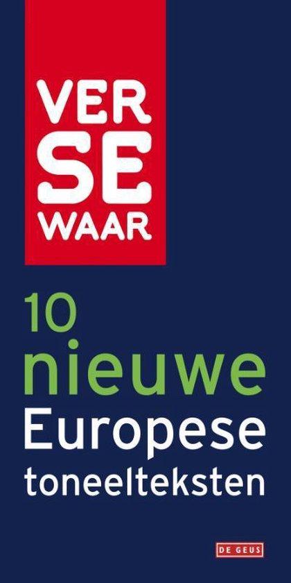 Cover van het boek '10 nieuwe Europese toneelteksten' van Verse Waar