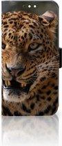 Huawei Mate 10 Lite Uniek Boekhoesje Luipaard